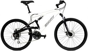 2017 Gravity FSX 1.0 Dual Full Suspension Mountain Bike with Disc Brakes, Shimano Shifting, Aluminum Frame